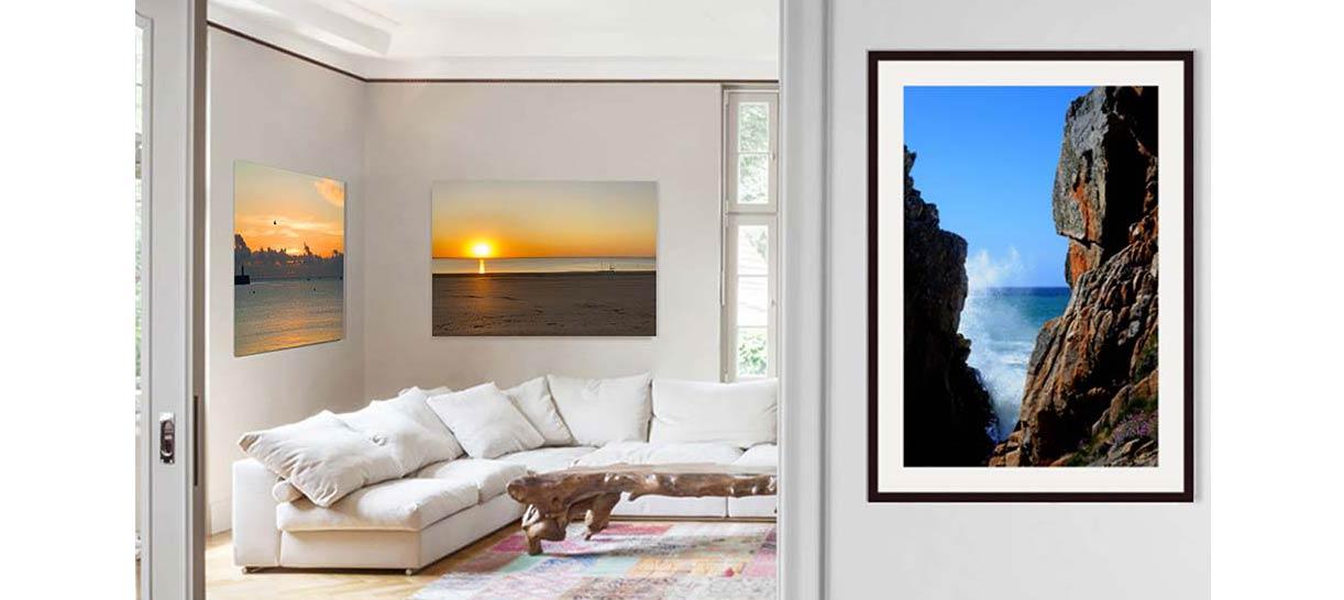 Les Panoramas de Foffields</br> sous verre acrylique