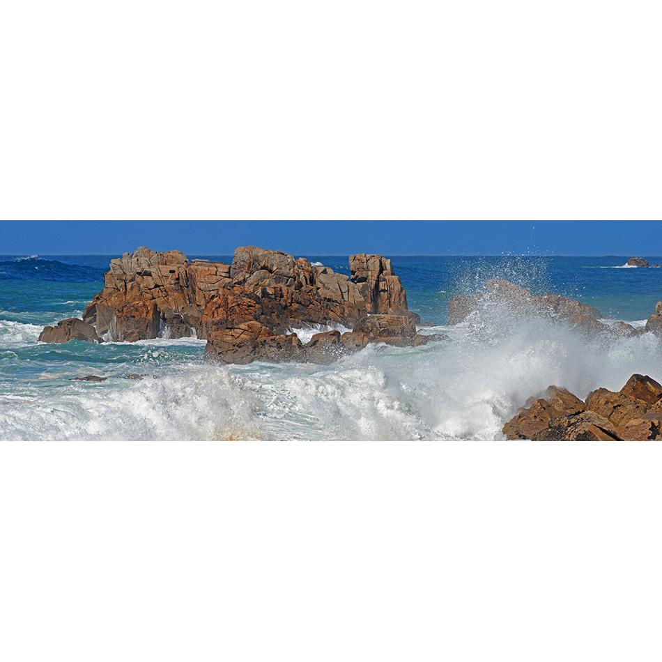 Houle sur les rochers
