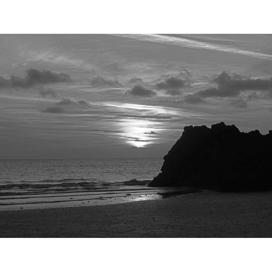 Un soir sur la plage